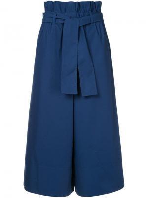 Wide leg suiting trousers Ck Calvin Klein. Цвет: синий