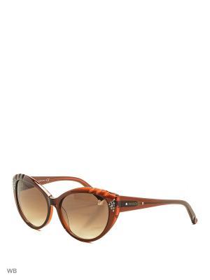 Солнцезащитные очки SK 0055 45F Swarovski. Цвет: коричневый