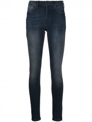 Джинсы скинни Sylvia Tommy Jeans. Цвет: синий