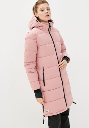 Куртка утепленная Rukka. Цвет: розовый