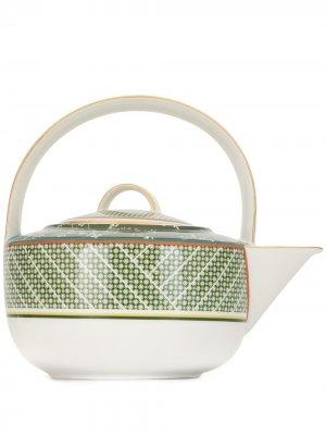 Заварочный чайник Forbidden Garden Shanghai Tang. Цвет: зеленый