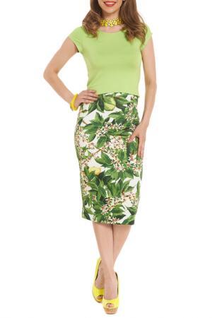 Юбка Argent. Цвет: зеленый