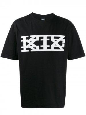 Футболка с логотипом KTZ. Цвет: черный
