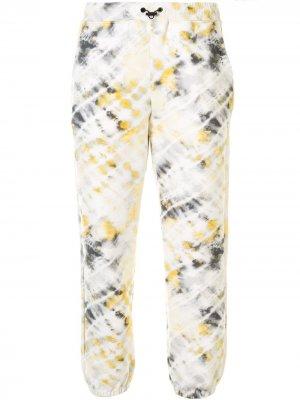 Спортивные брюки Oblivion Dive Koral. Цвет: белый