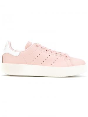 Кеды Stan Smith Bold Adidas. Цвет: розовый