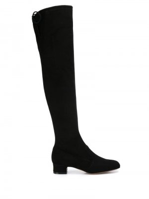 LAutre Chose ботфорты на каблуке L'Autre. Цвет: черный