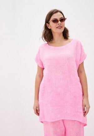 Блуза Sophia. Цвет: розовый