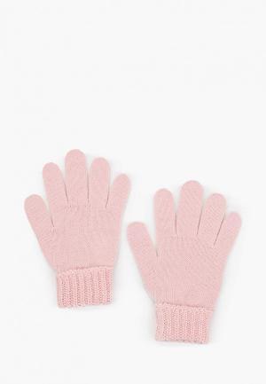 Перчатки United Colors of Benetton. Цвет: розовый