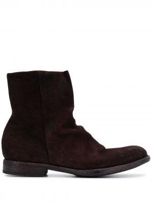 Ботинки на молнии Pantanetti. Цвет: коричневый