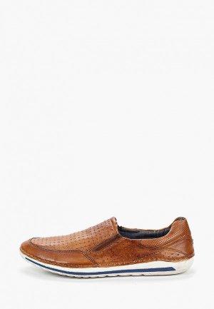 Лоферы Bugatti. Цвет: коричневый