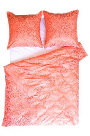 Постельное белье 2 сп, 4 нав. BegAl. Цвет: оранжевый