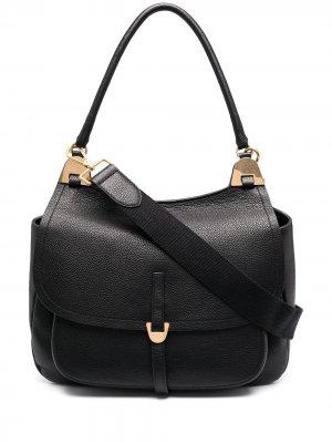 Большая сумка на плечо Fauve Coccinelle. Цвет: черный