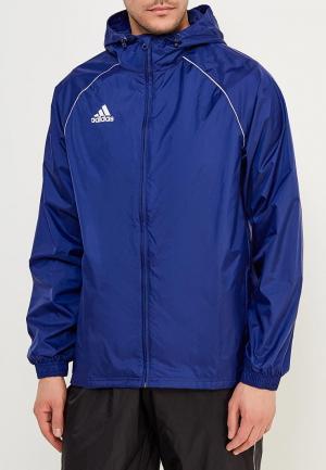 Ветровка adidas. Цвет: синий