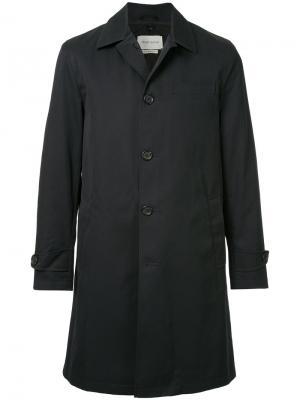 Пальто Beaumont Oliver Spencer. Цвет: синий