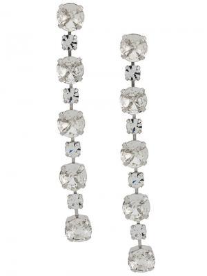Victoria earrings Ca&Lou. Цвет: серебряный