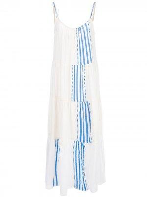 Платье Eshe Cascade lemlem. Цвет: белый