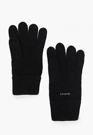 Перчатки Gant. Цвет: черный