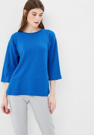 Блуза b.young. Цвет: синий