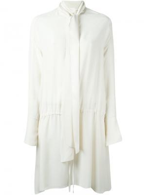 Платье с повязкой на шее Chloé. Цвет: нейтральные цвета