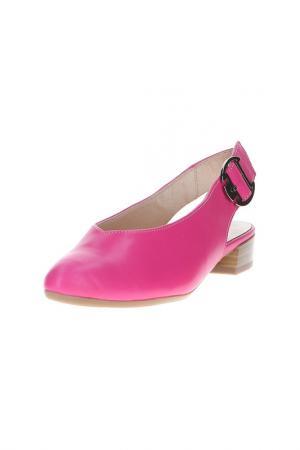 Туфли Alpina. Цвет: бордовый