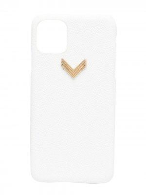 Чехол для iPhone 11 Pro Max Manokhi. Цвет: белый