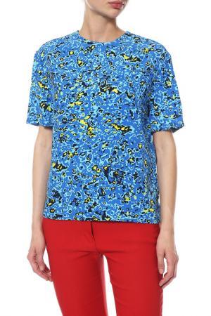 Блуза Balenciaga. Цвет: желтый