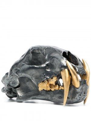 Статуэтка в виде черепа Parts of Four. Цвет: серебристый