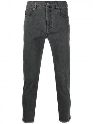 Укороченные джинсы скинни UNDERCOVER. Цвет: серый