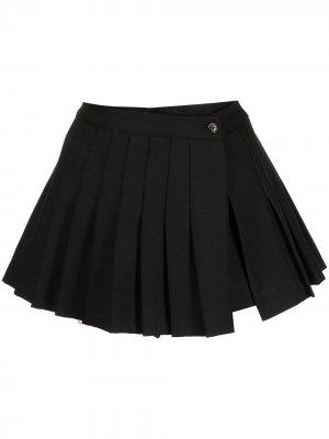 Юбка-шорты Paris со складками Sandy Liang. Цвет: черный