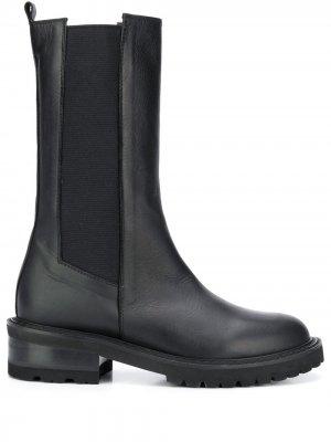 Высокие ботинки Via Roma 15. Цвет: черный