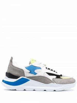 Кроссовки на массивной подошве D.A.T.E.. Цвет: серый