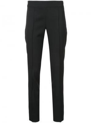 Прямые брюки Oscar de la Renta. Цвет: черный