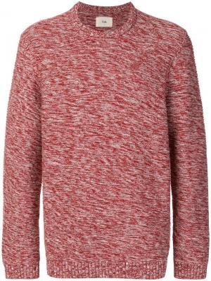 Текстурный свитер Folk. Цвет: красный