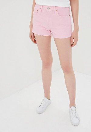 Шорты джинсовые Levis® Levi's®. Цвет: розовый