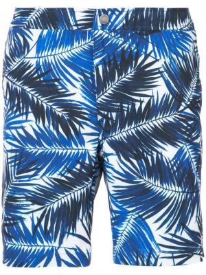 Пляжные шорты Calder Onia. Цвет: синий
