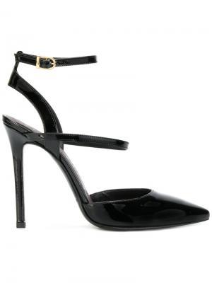 Туфли с заостренными носками Marc Ellis. Цвет: черный
