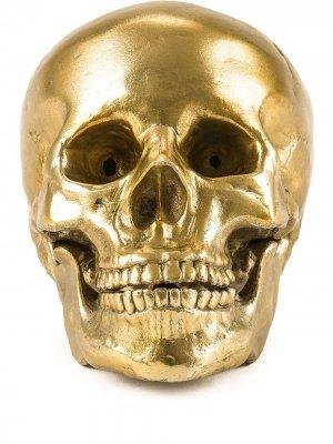 Декоративная фигурка Wunderkrammer Skull Seletti. Цвет: золотистый