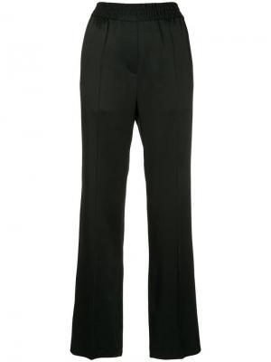 Прямые брюки с эластичным поясом Haider Ackermann. Цвет: черный