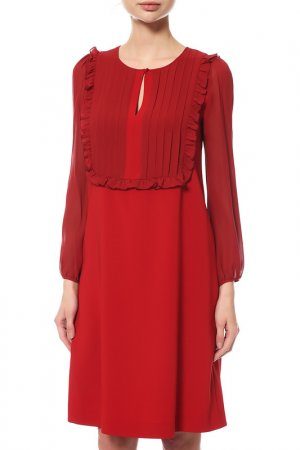 Платье MAXMARA. Цвет: красный