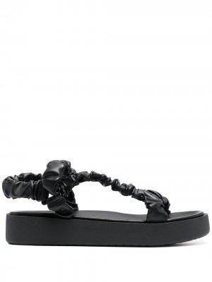 Массивные сандалии Sam Edelman. Цвет: черный