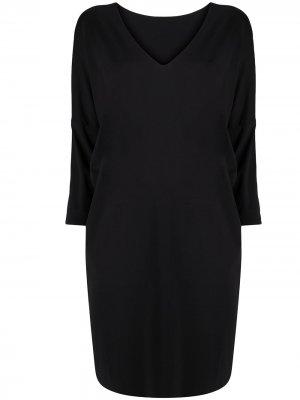 Платье миди Wolford. Цвет: черный