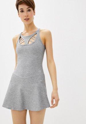 Платье Nativos. Цвет: серый