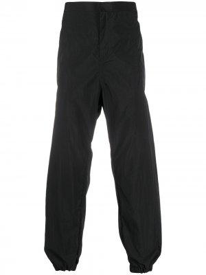 Зауженные брюки Fireman Opening Ceremony. Цвет: черный