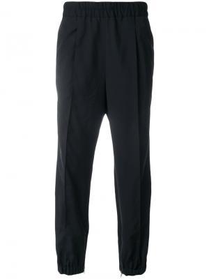 Спортивные брюки с эластичным поясом Kris Van Assche. Цвет: черный
