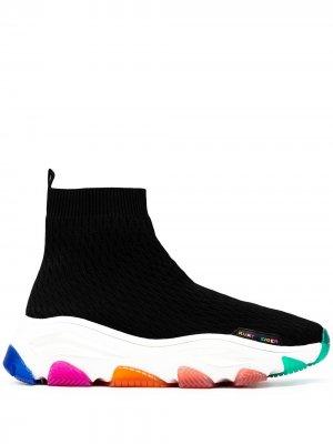 Кроссовки-носки Lettie Kurt Geiger London. Цвет: черный