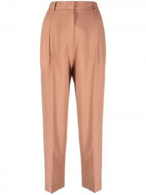 Прямые брюки с вытачками Alberto Biani. Цвет: розовый