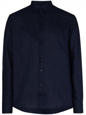 Рубашка Caroubis Vilebrequin. Цвет: синий