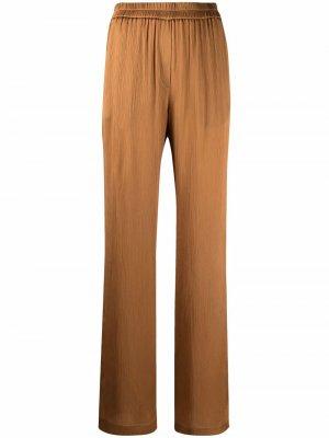 Широкие брюки с завышенной талией Nude. Цвет: коричневый