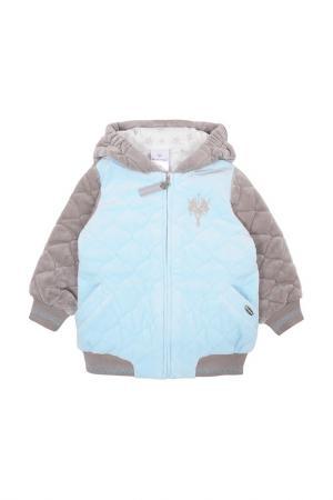 Куртка Мамуляндия. Цвет: голубой