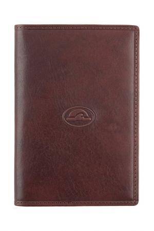 Обложка для паспорта Tony Perotti. Цвет: коричневый